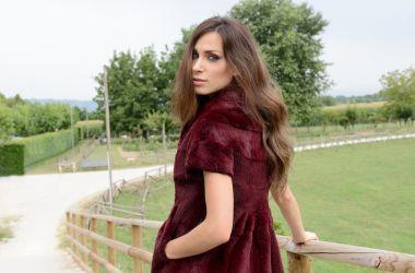 Flashsrl1718MilanoUnica Giacca pelliccia Lapin