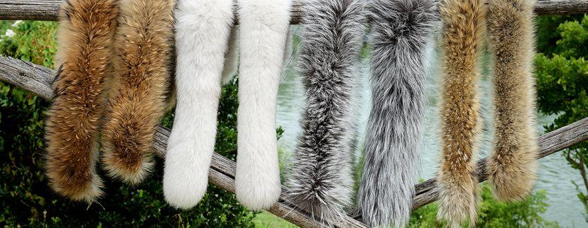 Produzione colli, bordi e finiture in pelliccia